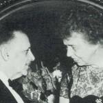 E. Bernays con Eleanor Roosevelt