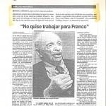 No para Franco