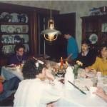 Pepe y Diana en casa de unos amigos de Providence