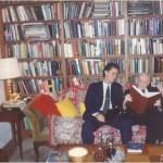 En la Biblioteca privada del Dr. Bernays