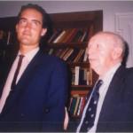 El Dr. Bernays y José Daniel Barquero, inseparables amigos