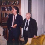 Evento con amigos y colegas en casa  del Dr. Bernays