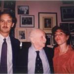 El Dr. Bernays, Diana y José Daniel Barquero