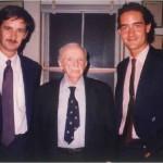 El Dr. Bernays, Pepe y José Daniel Barquero