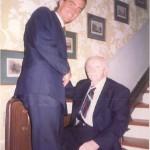 José Daniel Barquero y el Dr. Bernays siempre unidos
