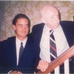 José Daniel Barquero y el Dr. Bernays buenos amigos