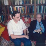El Dr. Bernays junto a Tom Day, del Consulado de Mónaco