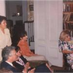 Encuentro con profesores y académicos de la Universidad de Boston