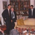 Presentación de José Daniel Barquero en casa del Dr. Bernays en presencia de colegas y amigos