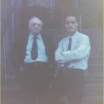 Esperando al Alcalde de Boston, Raimon Flyn, en la casa del Dr. Bernays