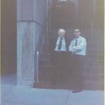 El Dr. Bernays y José Daniel Barquero en Boston