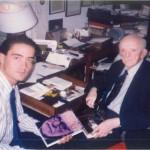 Hablando con el Dr. Bernays sobre su tío, Sigmund Freud, a quién Bernays popularizó en Estados Unidos