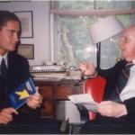 El Dr. Bernays en su despacho-vivienda