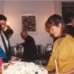 Cena en casa del Dr. Bernays