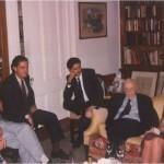 Encuentro en casa del Dr. Bernays con amigos
