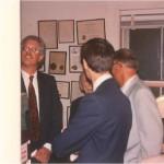 En el despacho del Dr. Bernays con amigos