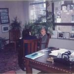 José Daniel Barquero con Harold Burson, fundador de Burson Marsteller, multinacional líder en Relaciones Públicas en Nueva York