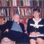 El Dr. Bernays y una colega del ámbito de las Relaciones Públicas